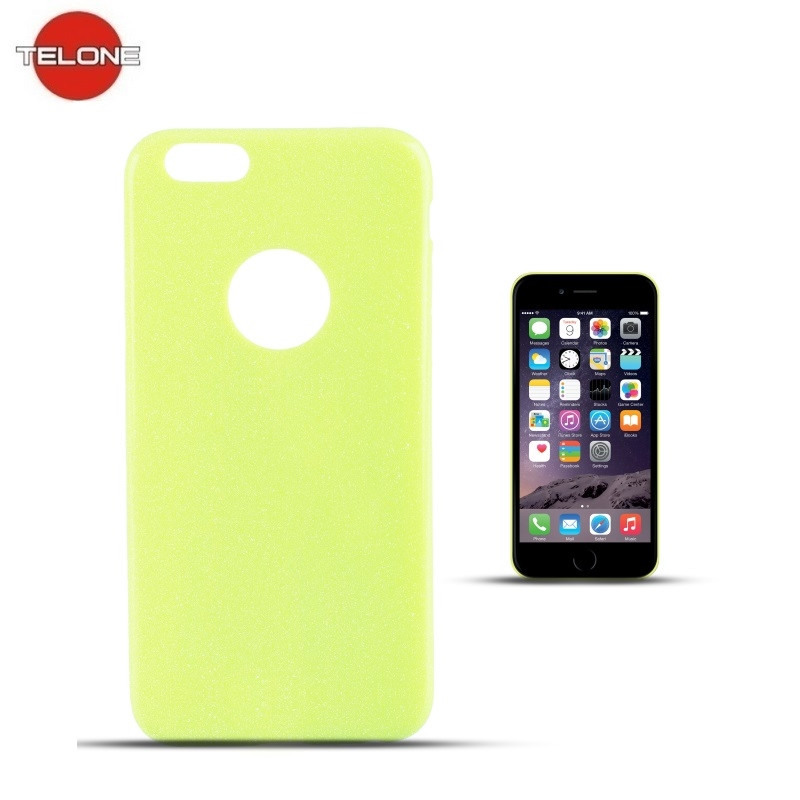 5f770dcb89bd5a Telone case iPhone 6/6s, lime - Smartphone cases - Photopoint