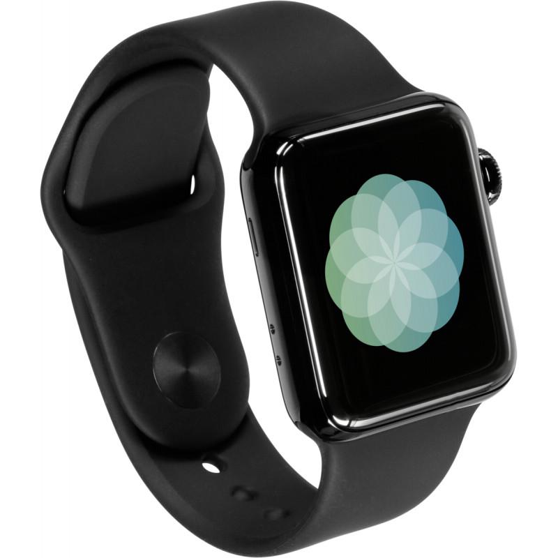 Apple Watch 3 GPS + Cell 38mm Space Blck Steel Case Blck Band
