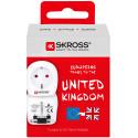 Skross travel adapter EUR - England