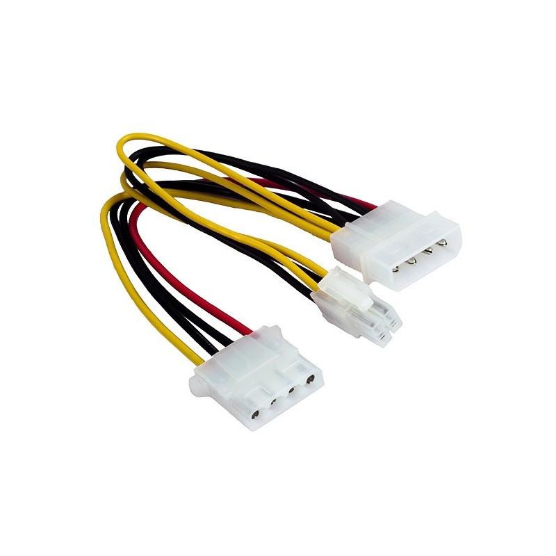 Gembird cable 2xMolex - 4-pin CC-PSU-4