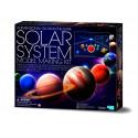 4M Päikesesüsteemi mudeli valmistamise komplekt (Helendab pimedas)