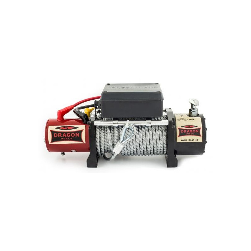 a20122d5b8e Elektrivints 12000lb / 5440kg 12V Maverick DWM12000HD Dragon Winch ...