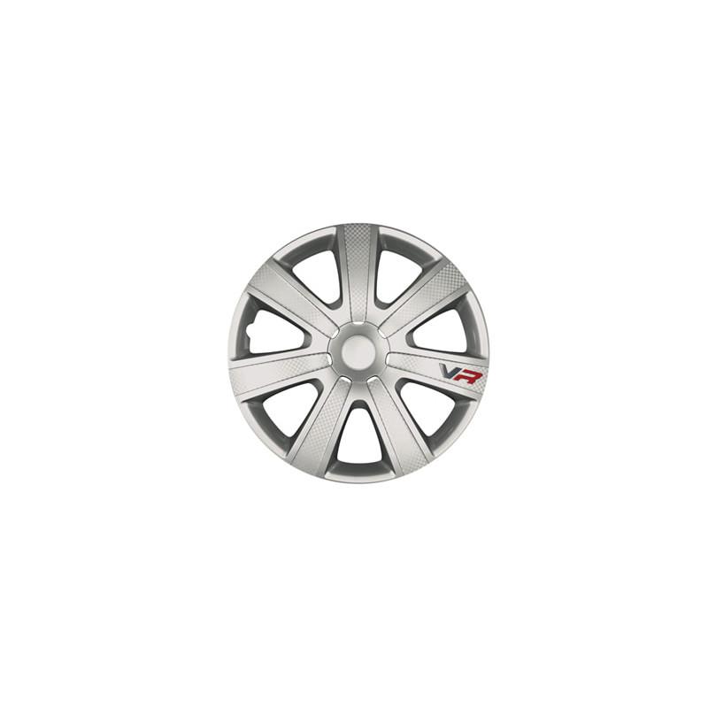 "Ilukilbid VR 16"" 4tk Silver-Carbon"