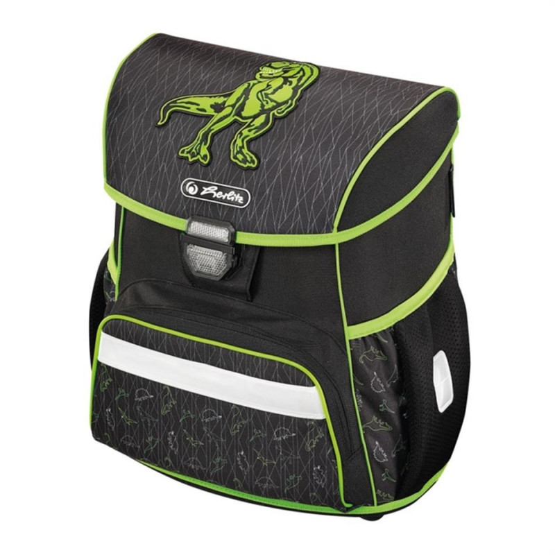 37dd54d5772 Herlitz Ranits LOOP - Green Dino - Children's bags - Photopoint