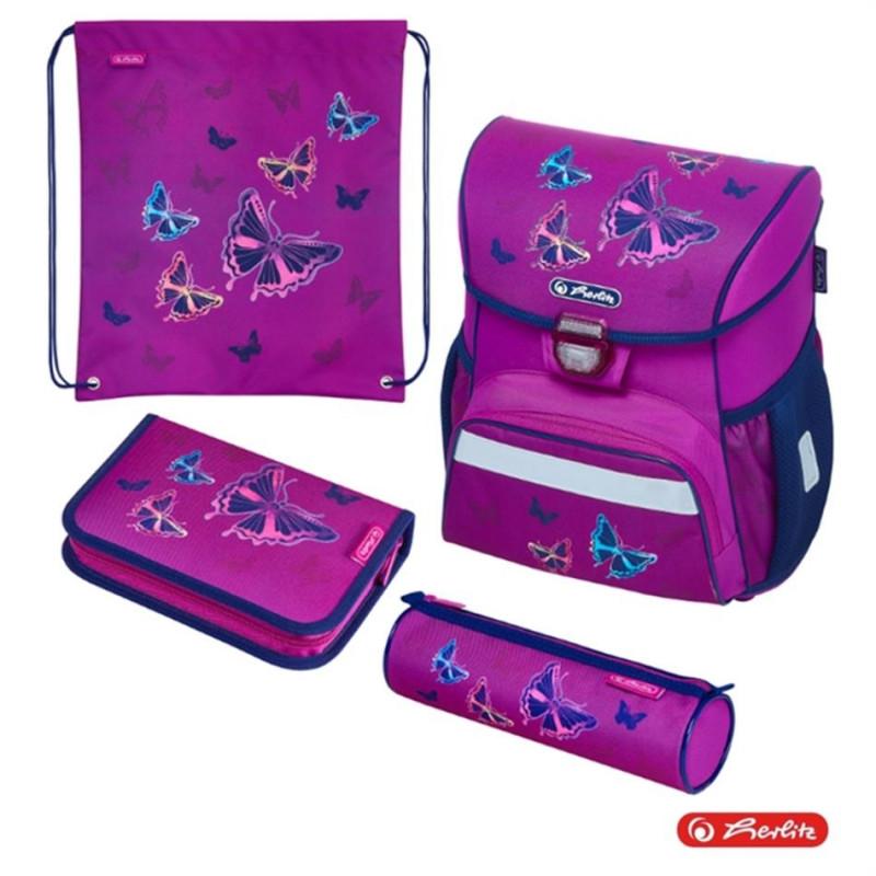 fb41e585e47 Herlitz Ranits LOOP PLUS - Glitter Butterfly - Laste kotid - Photopoint