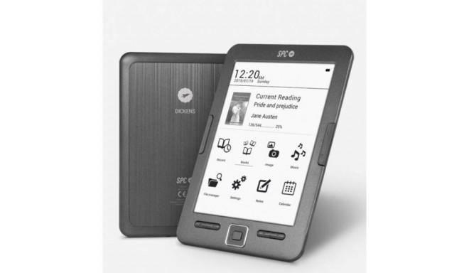 """E-Book SPC 5608N 6"""" 8 GB Black"""