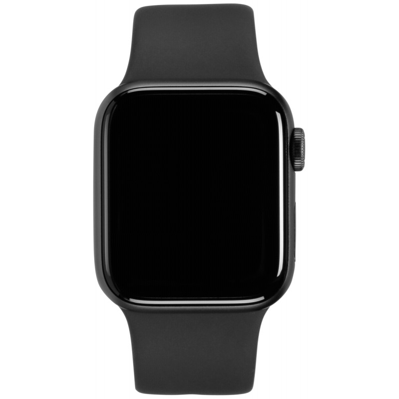 free shipping 0d2b2 9cad4 Apple Watch Series 4 GPS Cell 44mm Grey Alu Black Band