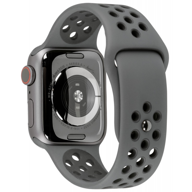 official supplier various styles nice shoes Apple Watch Nike+ Series 4 GPS Cell 40mm Grey Alu Nike Band