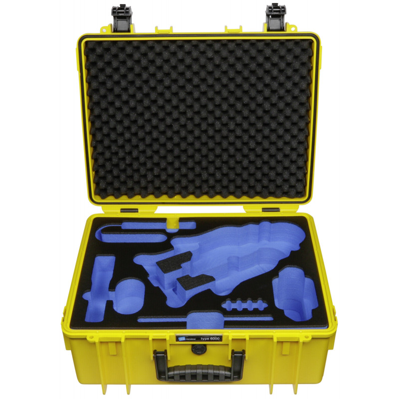 B&W Copter Case Type 6000/Y yellow with GoPro Karma Inlay