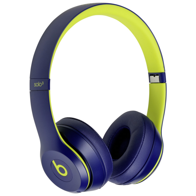 1858fd6e1f9 Beats Solo3 Wireless On-Ear Headphones Pop Indigo - Headphones ...