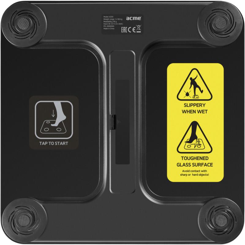ACME SC101 Smart Scale  black