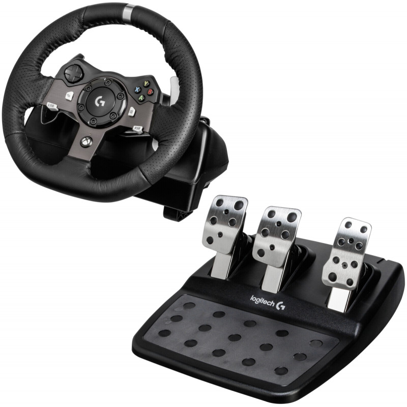 Logitech steering wheel + pedals G920 Driving Force USB