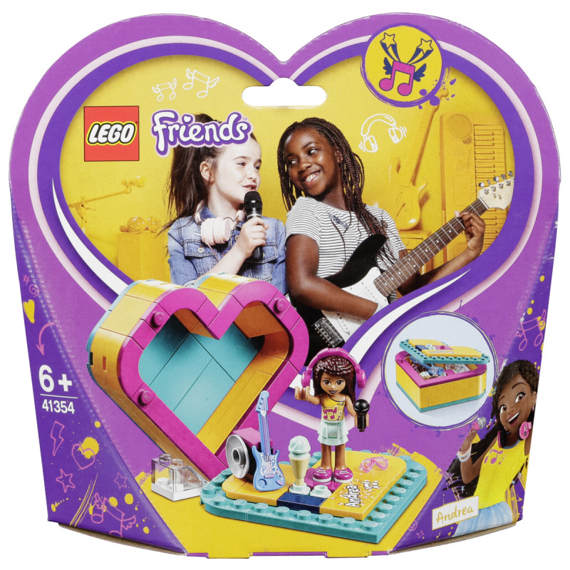 Lego Friends 41354 Andreas Heart Box Lego Photopoint