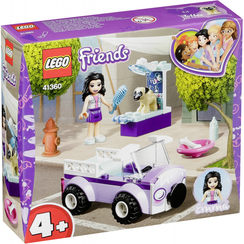 LEGO Friends toy blocks Emma's Mobile Vet Clinic (41360)