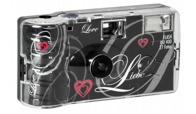 Single use Camera Flash 400 27 Love  black