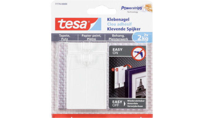 1x2 Tesa Adhesive Nail       2kg for Wallpaper & Plaster    77776