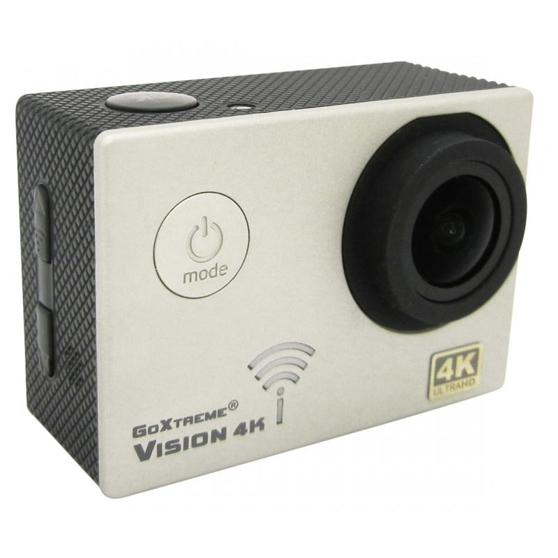 EasyPix GoXtreme Vision 4K ULTRA HD, hõbedane