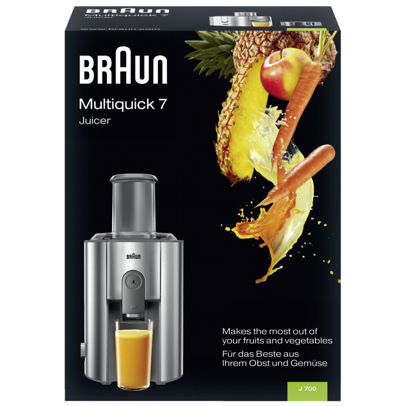 Braun juicer IdentityCollection J 700
