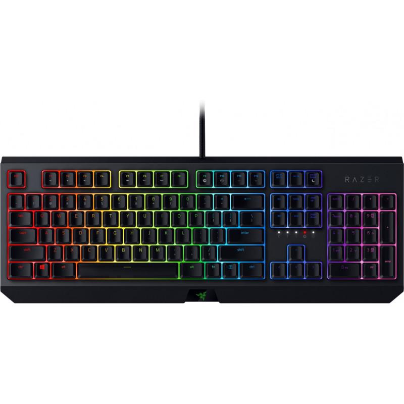 Razer klaviatūra Blackwidow 2019 US Green Switches
