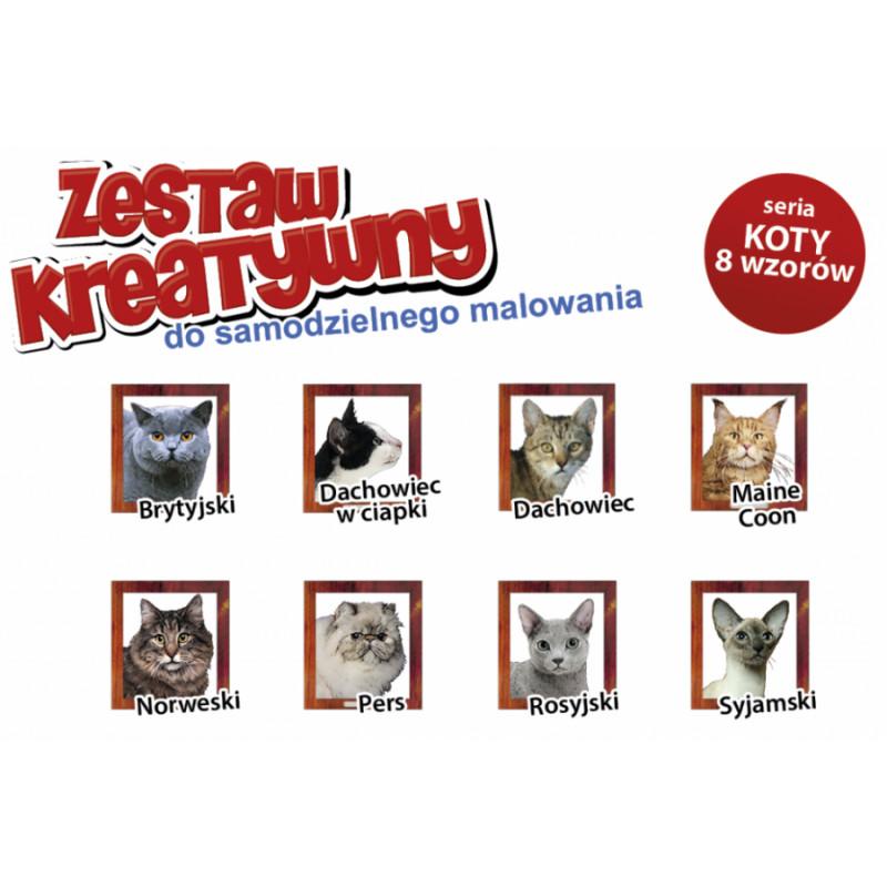 KOTY - Wypukła Malowanka Seria KOTY - PERS