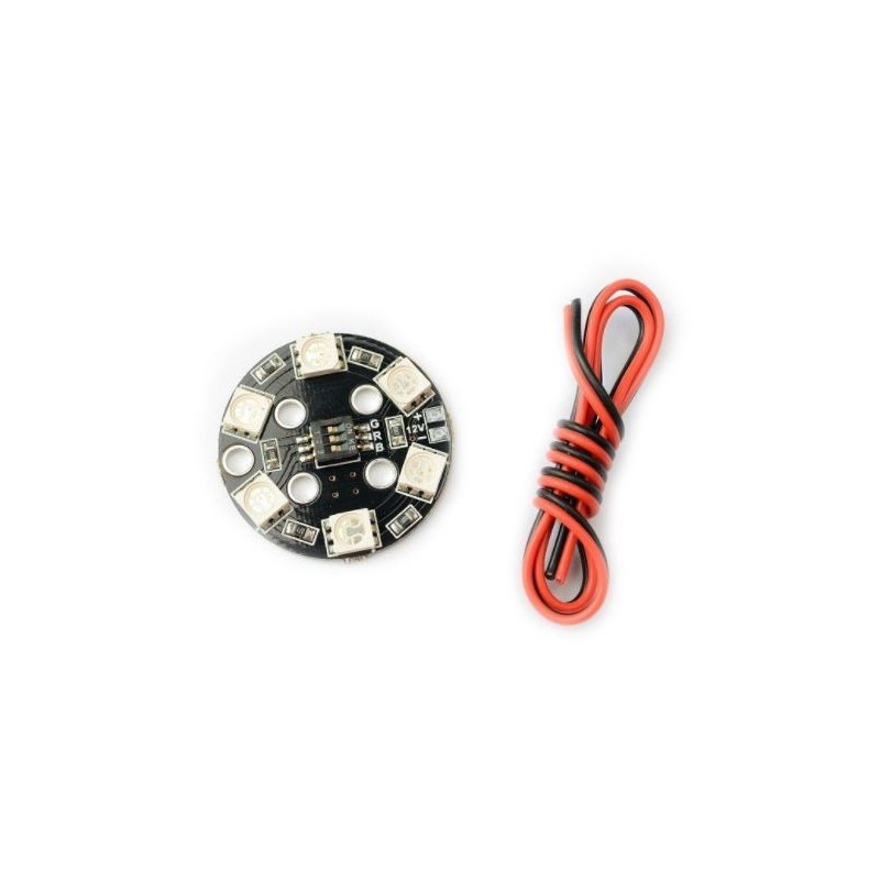 Led Lights Rgb Circle X6 12v Multicolor