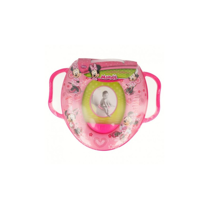 Offset Mini Wc With Handles Minnie Mouse Pink ночные горшки