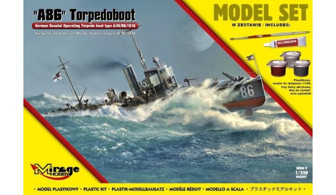 'A86' Torpedoboot German torpedo boat typ A/III/56/1916