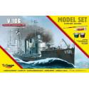 'V106' Niemiecki Okręt Torpedowy z I WŚ