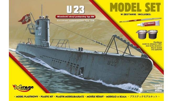 'U23' German II WW submarine type IIB