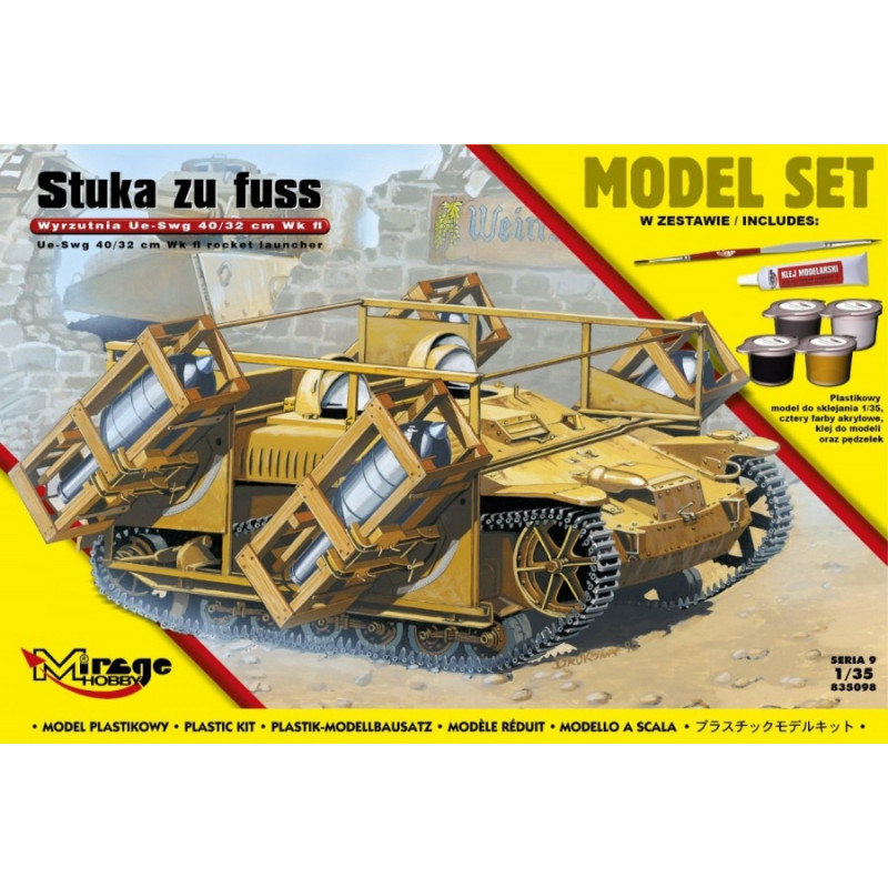 Mirage model kit UE-sWG 40/32cm Wk Fl
