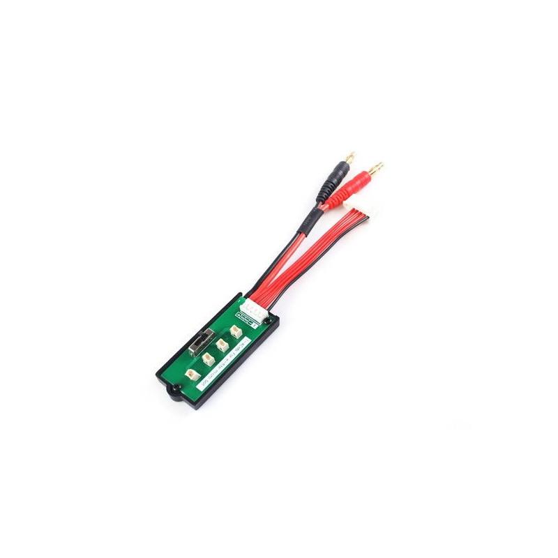 1-4 cells MCX battery adapter