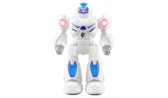 Mini Robot Myth Armor (walks, sounds, lights) – blue