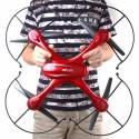 MJX X102H RTF (2.4GHz, 4CH, gyroscope, barometer, headless mode) - Red