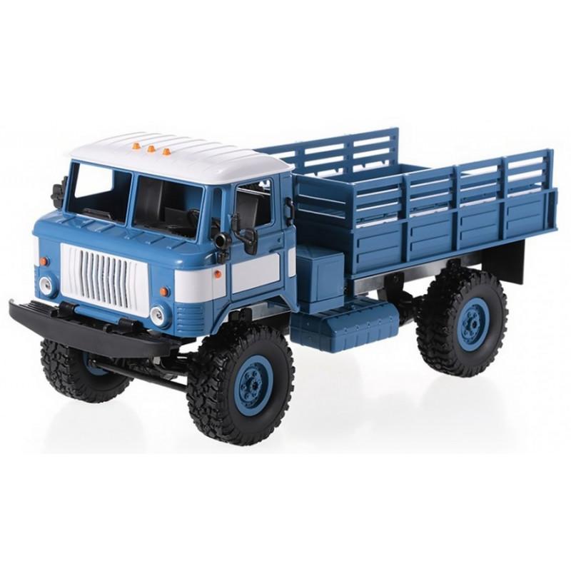 Army Truck WPL B-24 1:16 4x4 2.4GHz RTR - Blue