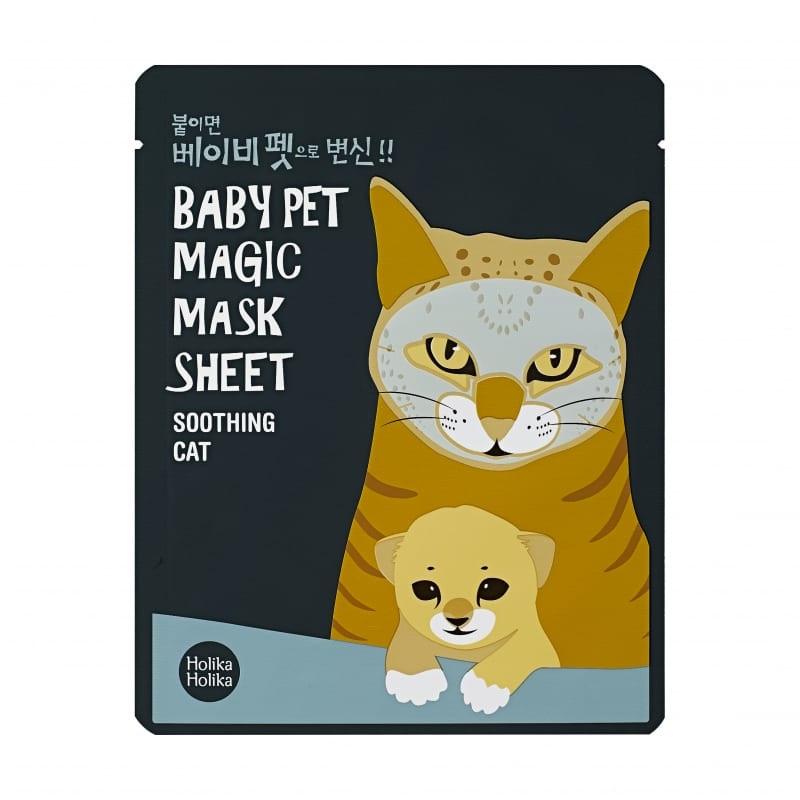 Holika Holika näomask Baby Pet Magic Mask Sheet (Cat)