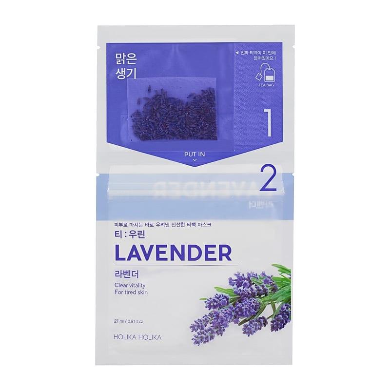 Holika Holika Teepakikesega kangast näomask Instantly Brewing Tea Bag Mask - Lavender