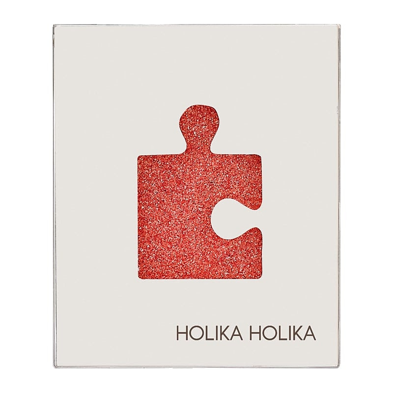 Holika Holika Piece Matching Shadow Glitter Eyes GOR01 Orange Soda