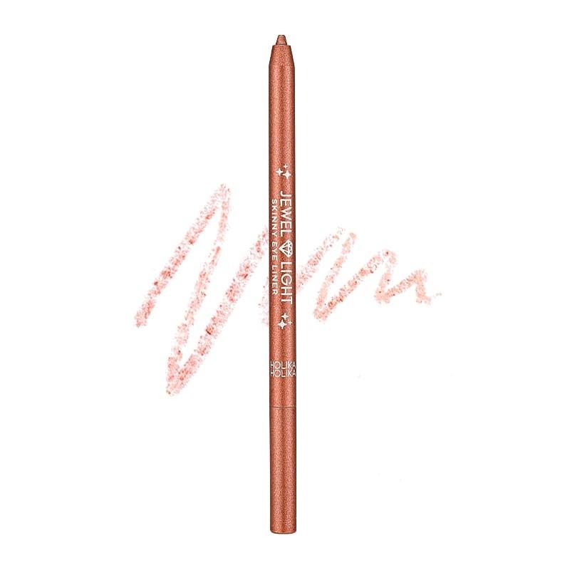Holika Holika Veekindel särav silmapliiats Jewel Light Skinny Eye Liner 09 Rose Sparkling