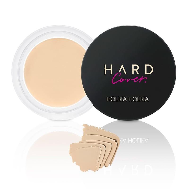 Holika Holika Peitekreem Hard Cover Cream Pot Concealer 01 Warm Ivory