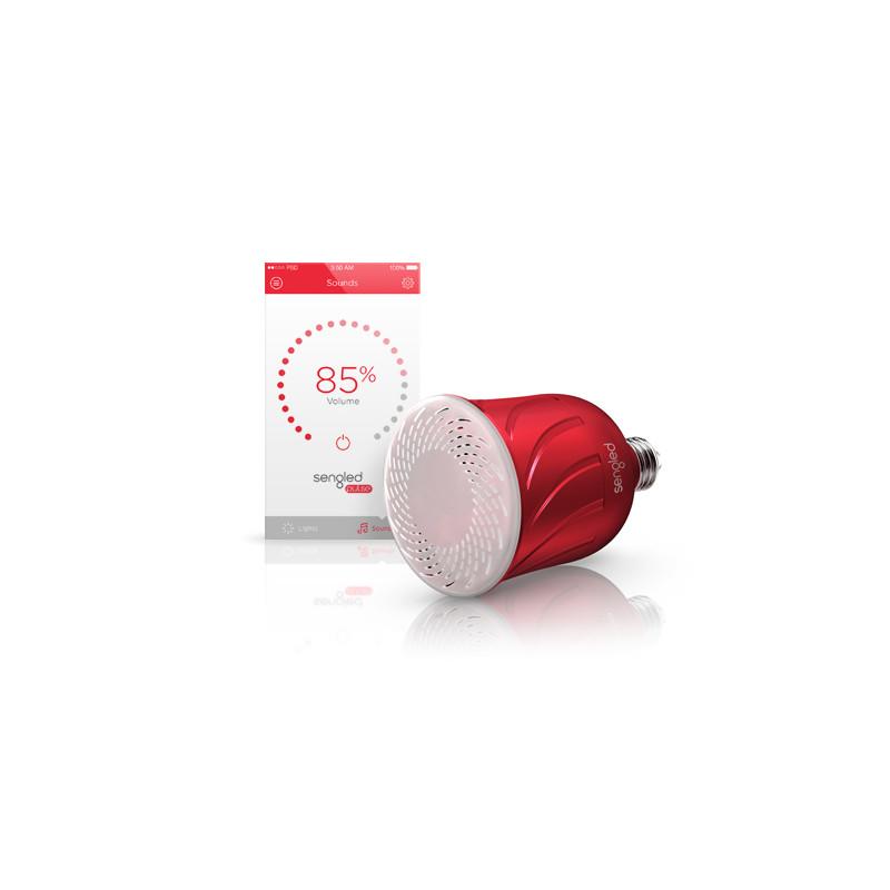 Bluetooth JBL kõlariga pirn(Satellite), Punane