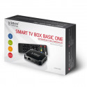 Savio TB-B01 Smart TV Box Streaming Device Android 7.1 / 4K / Wi-Fi / 1GB / 8GB / 4 x 1.2 Ghz / H.26
