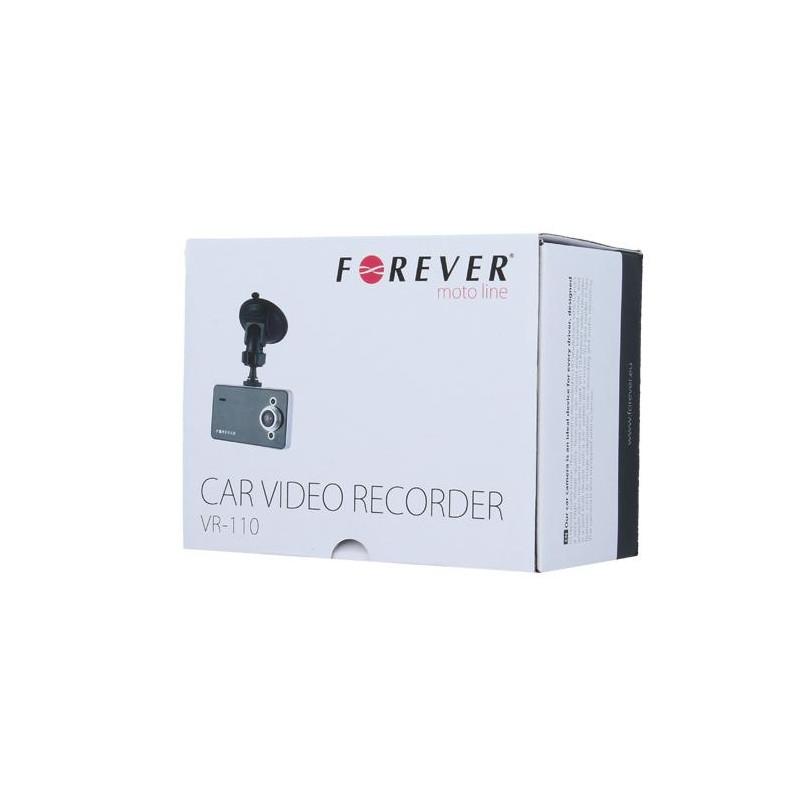 FOREVER VR-110 Car video recorder HD / microSD / LCD 2.4'' + Holder