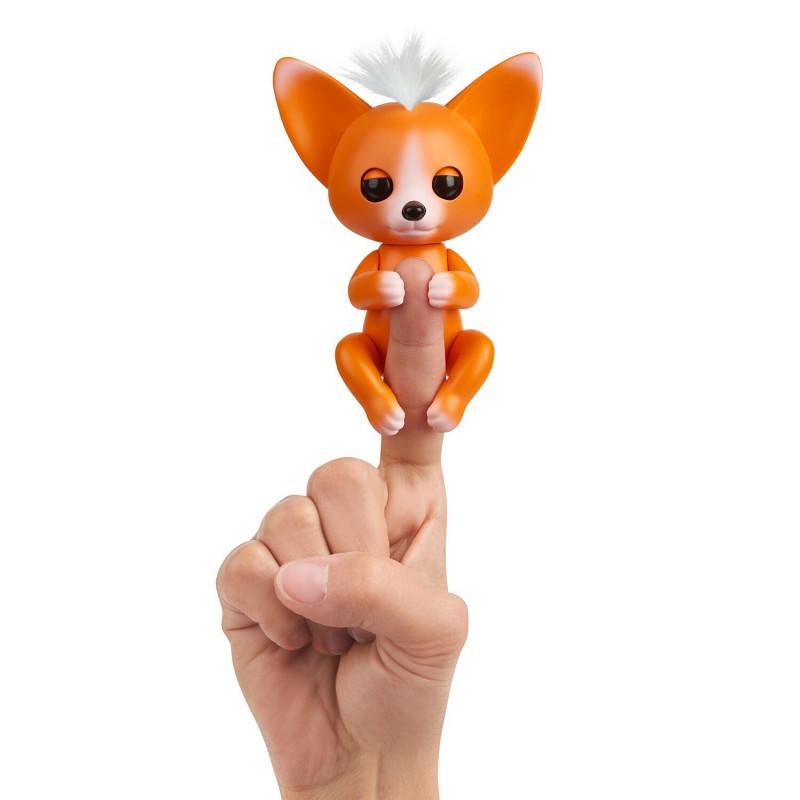 FINGERLINGS elektrooniline mänguasi beebirebane, Mikey, oranž, 3571