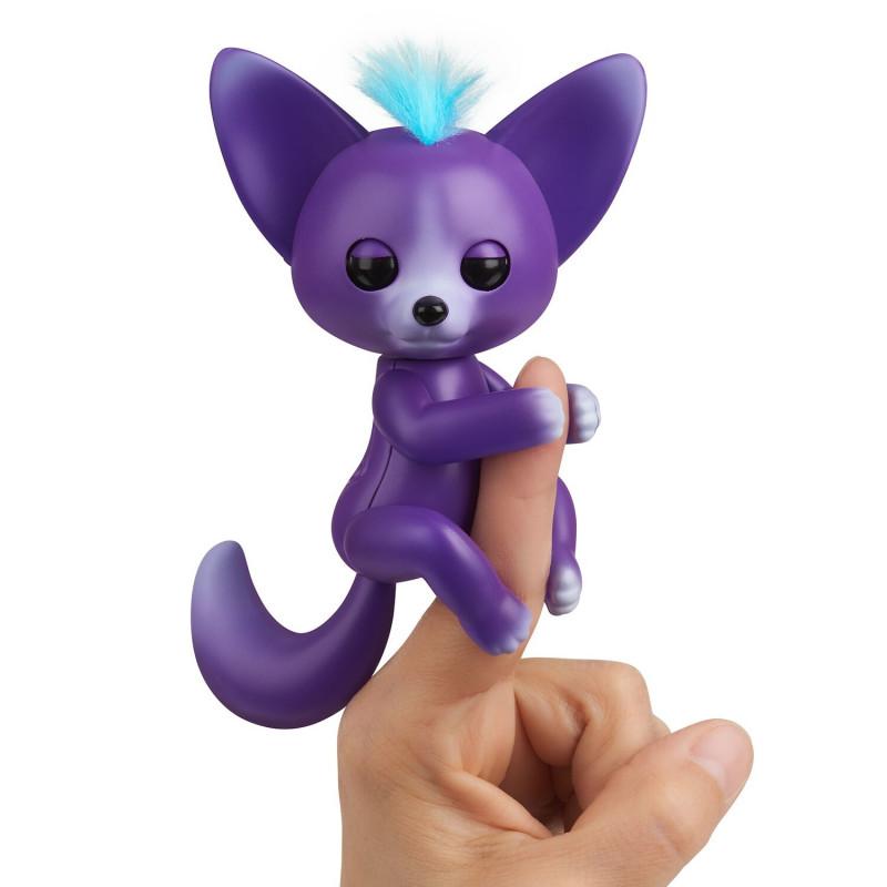 FINGERLINGS electronic toy baby fox Sarah, purple, 3574