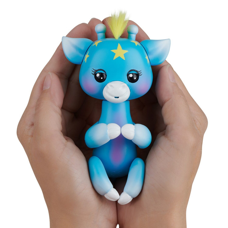 FINGERLINGS elektrooniline mänguasi beebikaelkirjak Lil' G, sinine, 3556