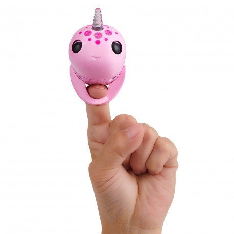 bc4591051a6 FINGERLINGS elektrooniline mänguasi narval Rachel, roosa, 3697
