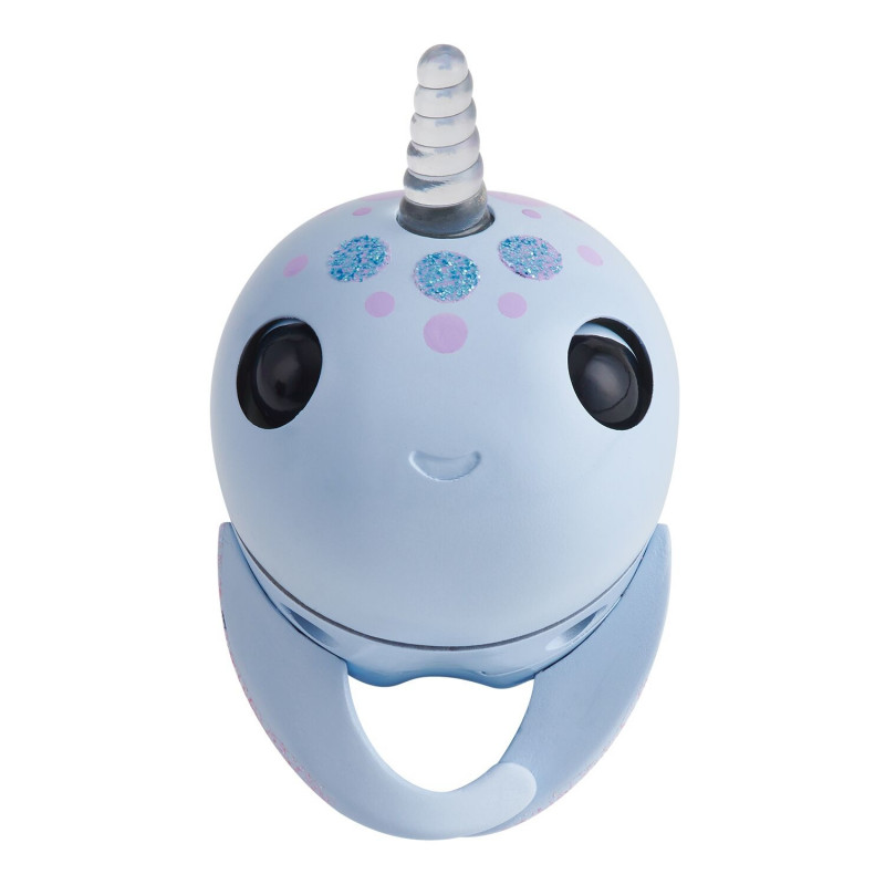 FINGERLINGS elektrooniline mänguasi narval Nori, violetne, 3698