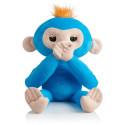 FINGERLINGS plush monkey Hugs, blue, 3531