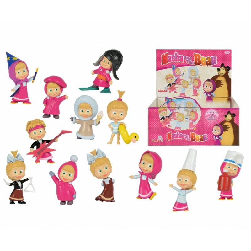 f4051a2b55a SIMBA MASHA AND THE BEAR doll, 12-asst, 109302144 - Dolls - Photopoint