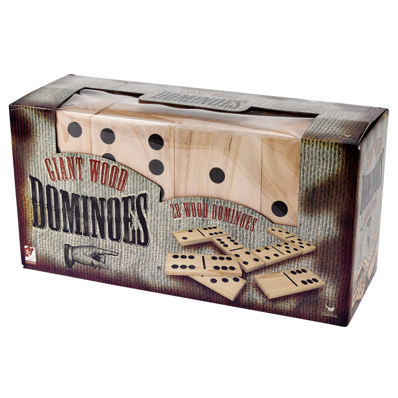 CARDINAL GAMES puidust suur doomino GIANT, 6037727